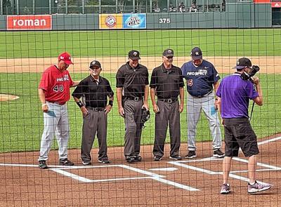 Local umpires