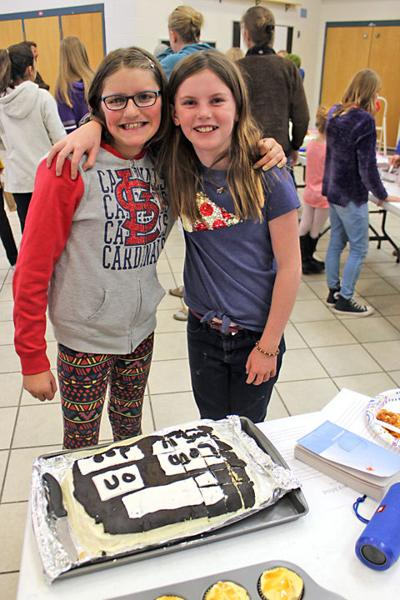 Kaylee Johnson and Ruby Bischoff