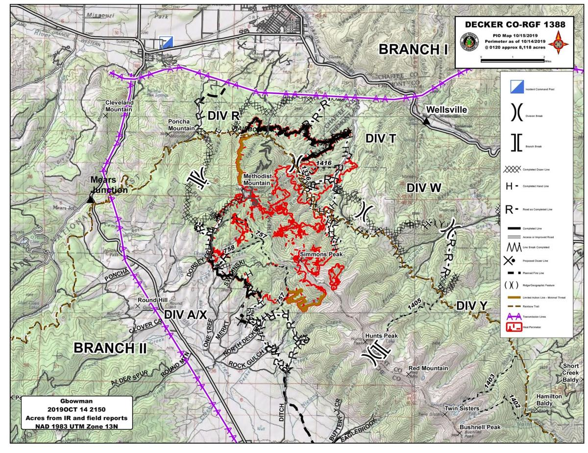 Decker Fire Map Oct. 15, 2019 | Free Content ... on