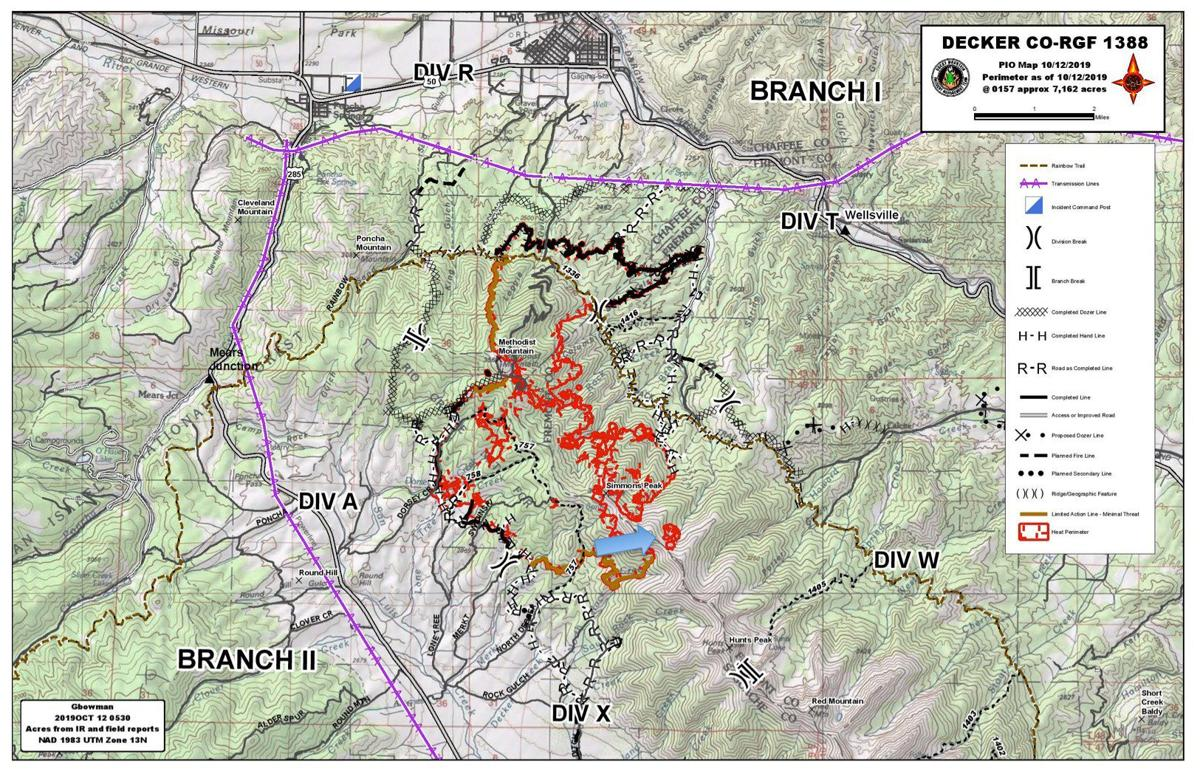 Spot fire activity increases