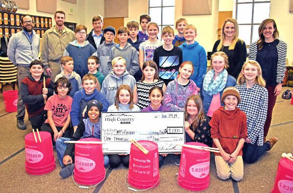 Groove Battalion receives $1,000