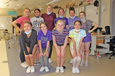 Cheerleaders place eighth in the state