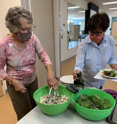 Embracing Aging eats healthy