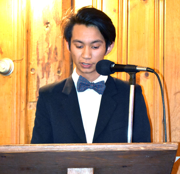 Boys & Girls Clubs of Chaffee County Youth of the Year Carlos Barrientos