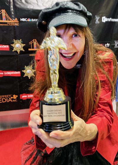 "Buena Vista filmmaker Connie ""Paprika"" Leaverton"