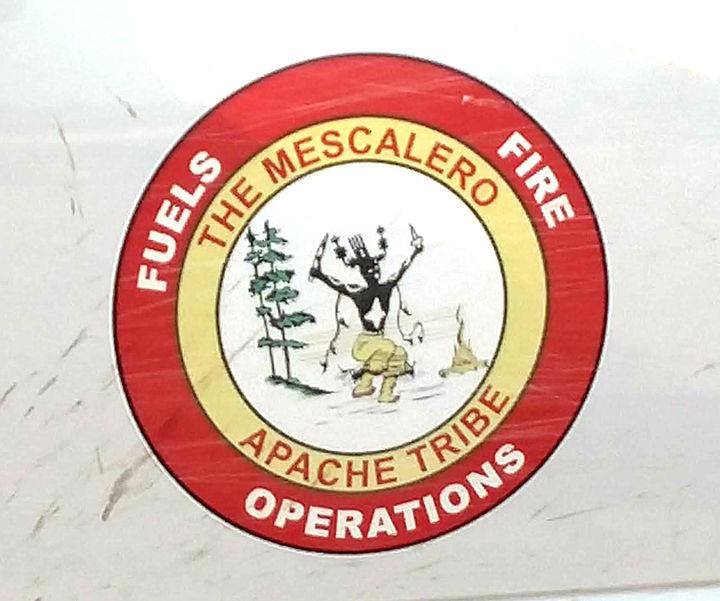 Responding firefighters