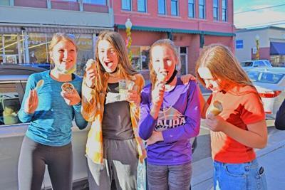 Eighth-graders' sweet reward