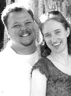 Kristy Kalivoda and John Roszel