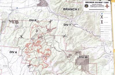 Decker Fire Map