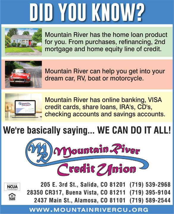 Mountain River Credit Union