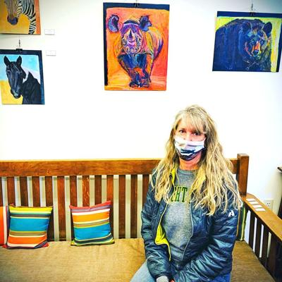 Patti Vincent shows at library
