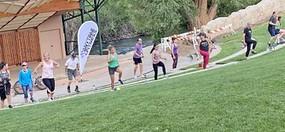 Free workouts offered at Salida's Riverside Park