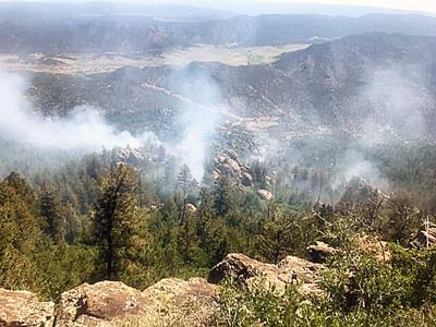 Canyonlands Fire
