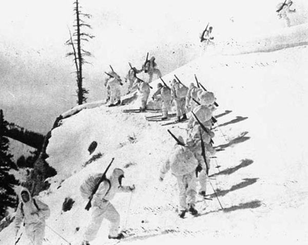 Soldiers of the 10th Mountain Division
