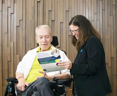 Amyotrophic lateral sclerosis patients can find/give help with National ALS registry