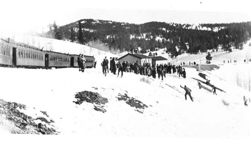 Marshall Pass in February 1938