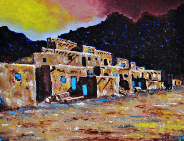 """""""Ancient Pueblos"""" by Judy Sprague"""