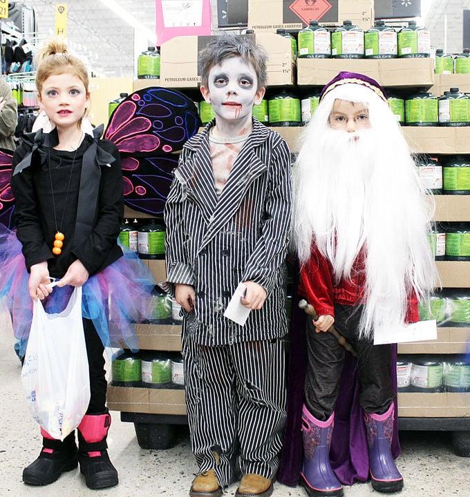 Halloween winners at Walmart