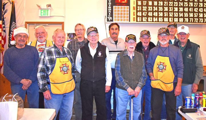 Members of Angel of Mount Shavano Veterans of Foreign Wars Post No. 3820