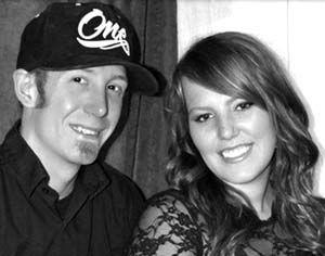 Dustin Rushton and  Amber Sparkman