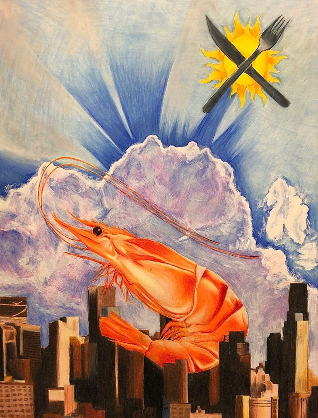 0426 art students Danelia Manriquez Colored Pencil 18x24 Salida High School .tif