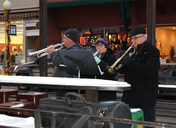 Members of Salida Brass