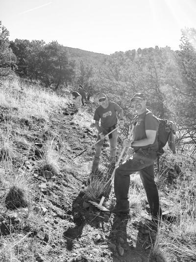 Salida Mountain Trail volunteers