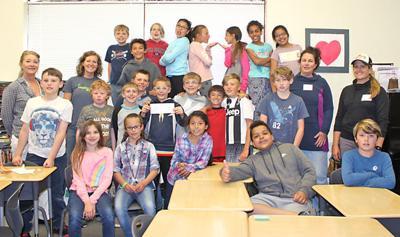 Debra Norby-Colgate's fourth-grade class