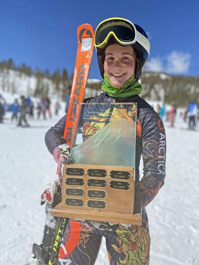 Ramsey wins Walmer award for fastest skier