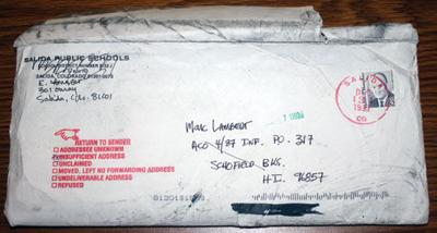 22-year old letter