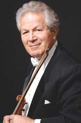 Renowned violinist Robert Davidovici