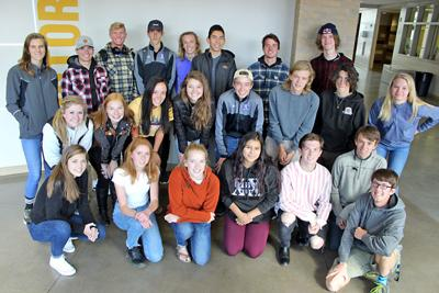 Salida High School's Academic All-State honorees