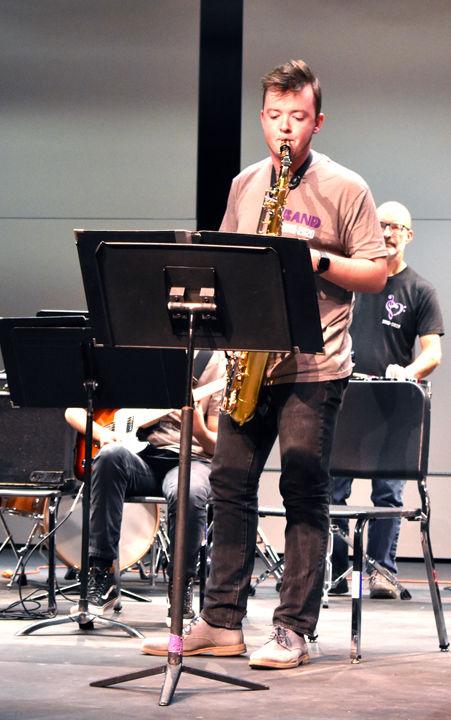 Andrew McFarren plays a solo
