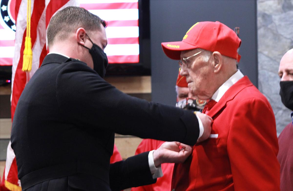 WWII veteran honored with Bronze Star