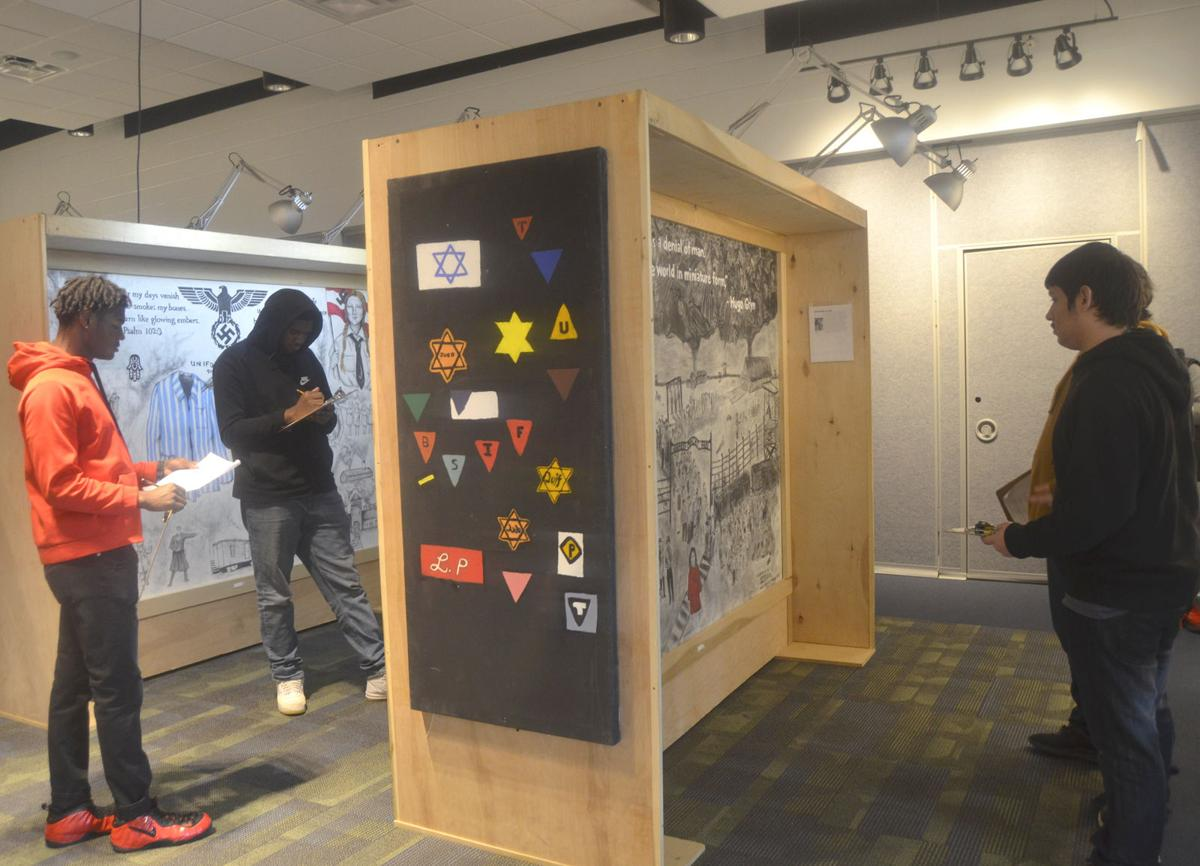 Students reflect on Holocaust murals, history at ECTC