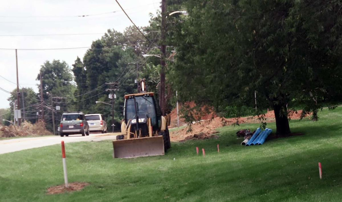 Utility work begins on Cardinal Drive Project