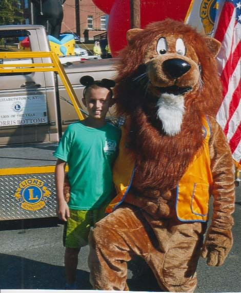 E'town Lions participate in Heartland Parade