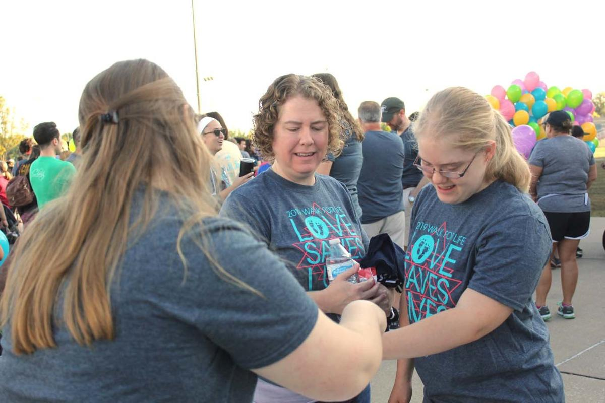 Hundreds take part in Walk for Life
