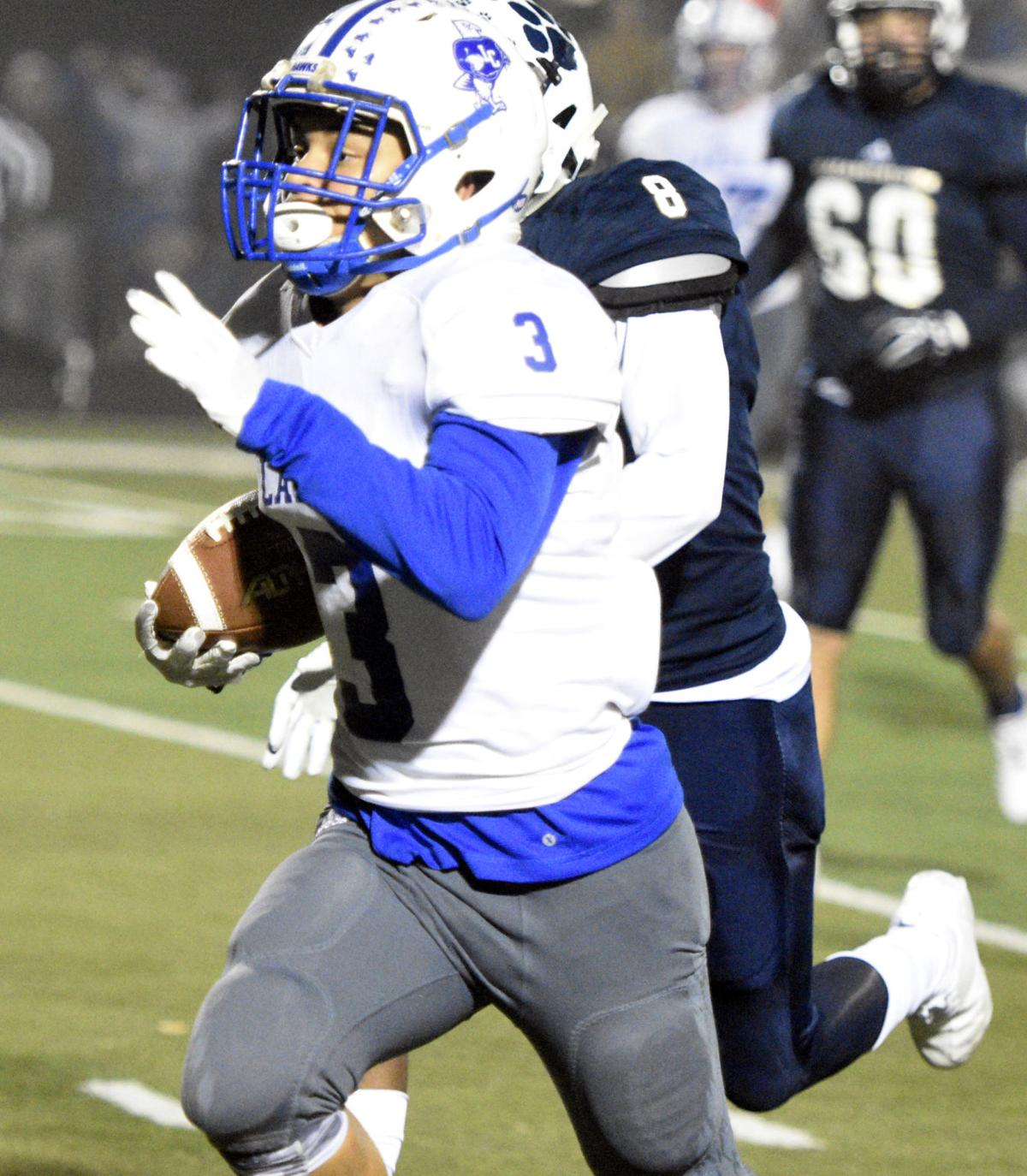 PREP FOOTBALL: LaRue's ground game is key to reaching first state championship game