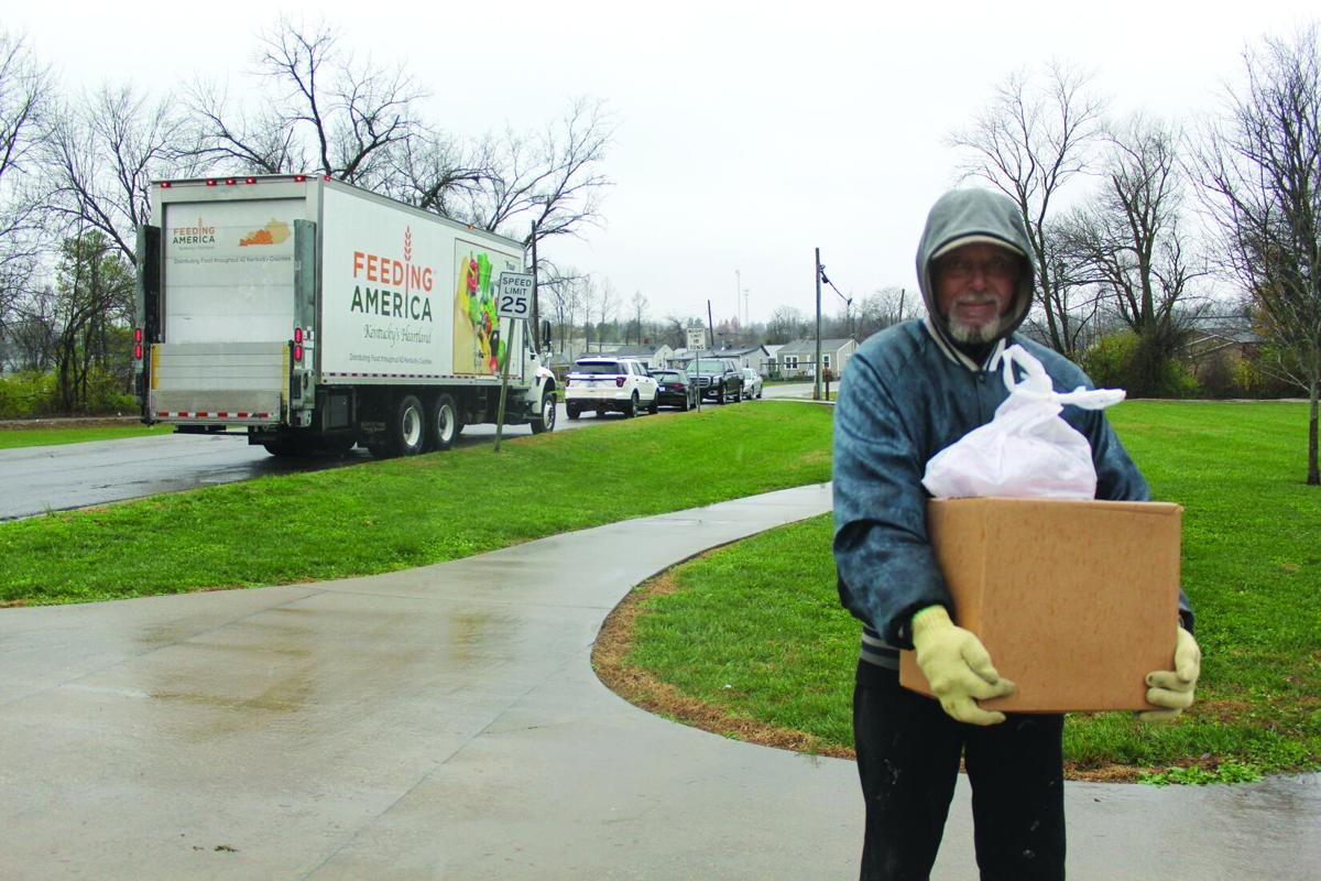 Feeding America's mobile food pantry hits the streets
