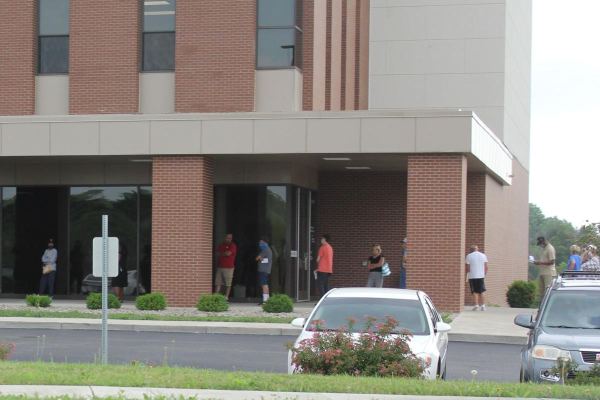 Residents see long line at clerk's office