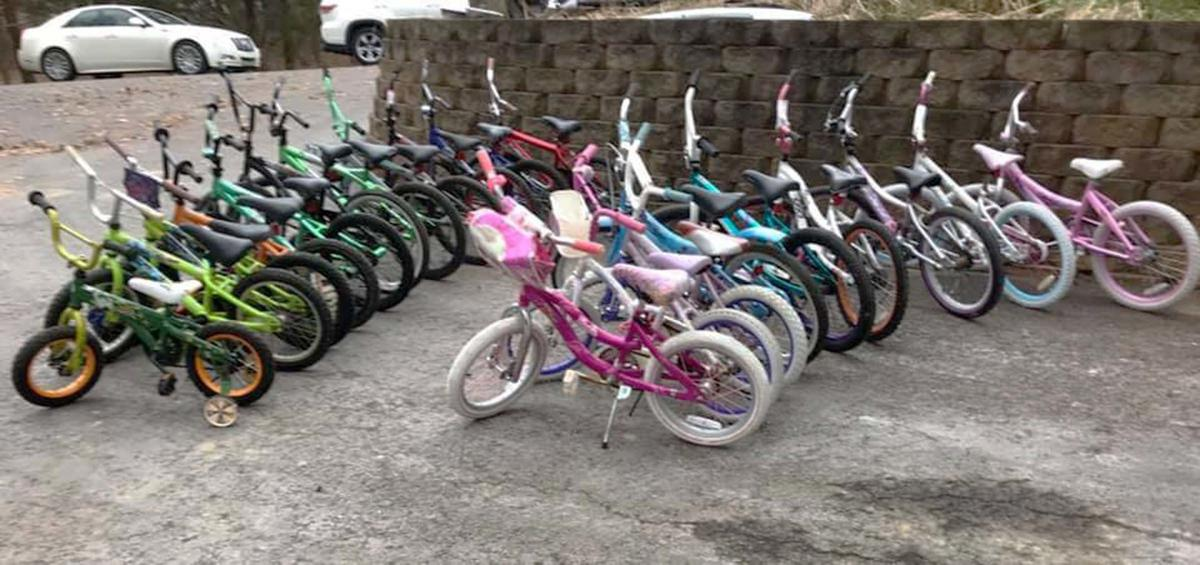 Local body shop 'pays it forward' by repairing, donating bicycles