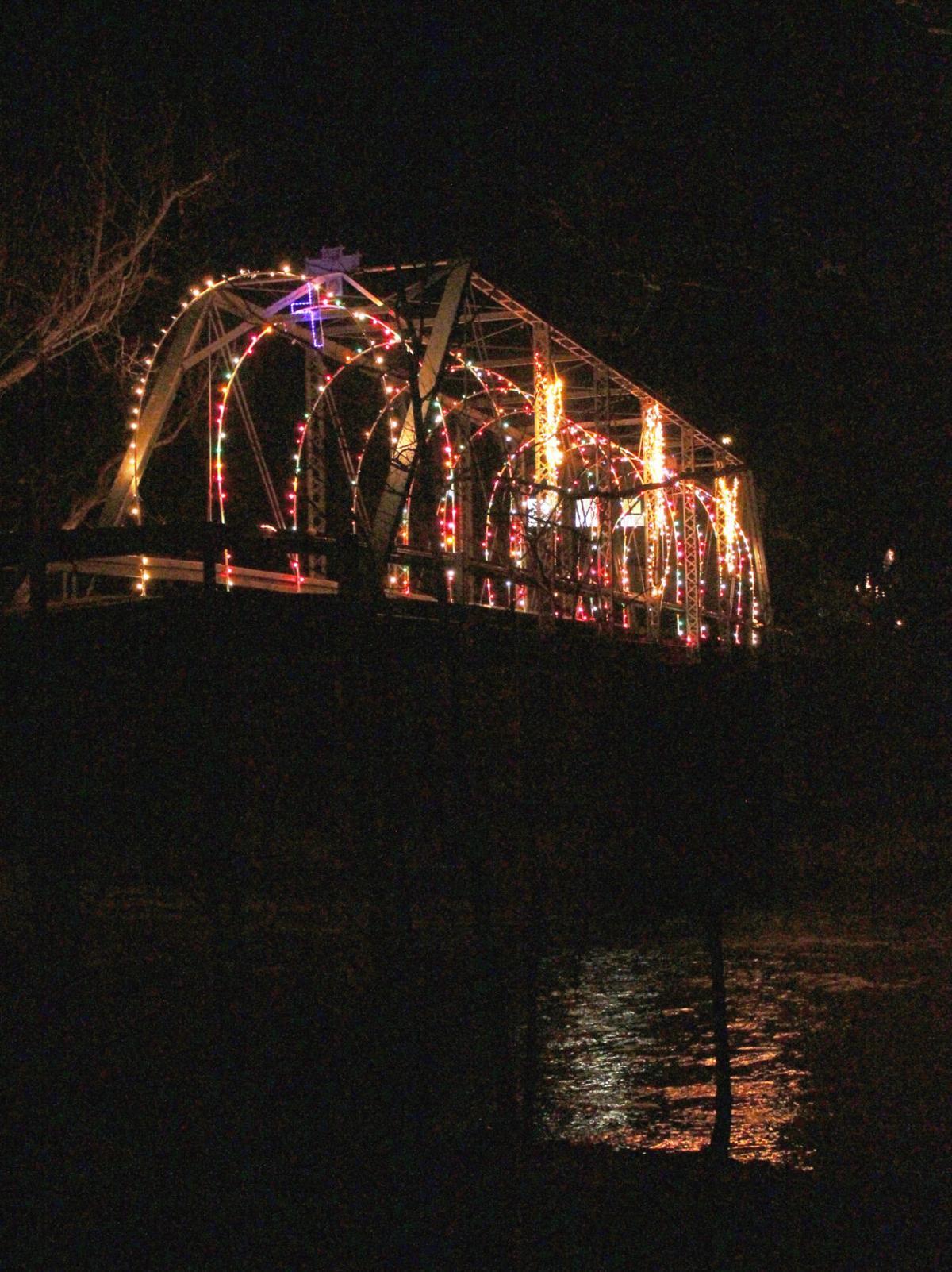 Lights go on in White Mills despite weekend rain