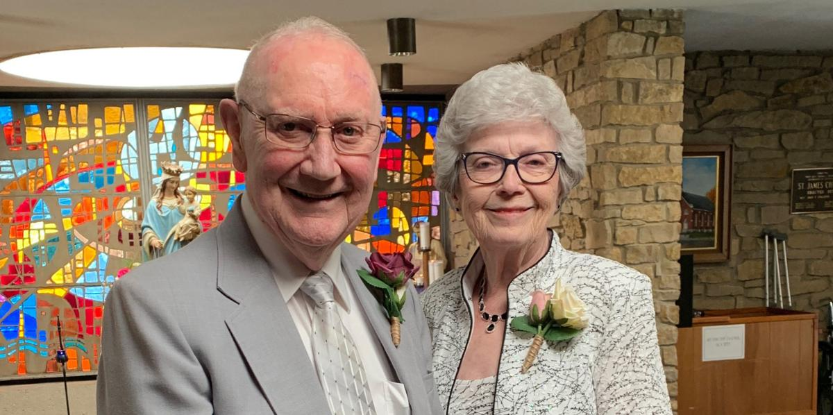 Coopers celebrate 60th wedding anniversary