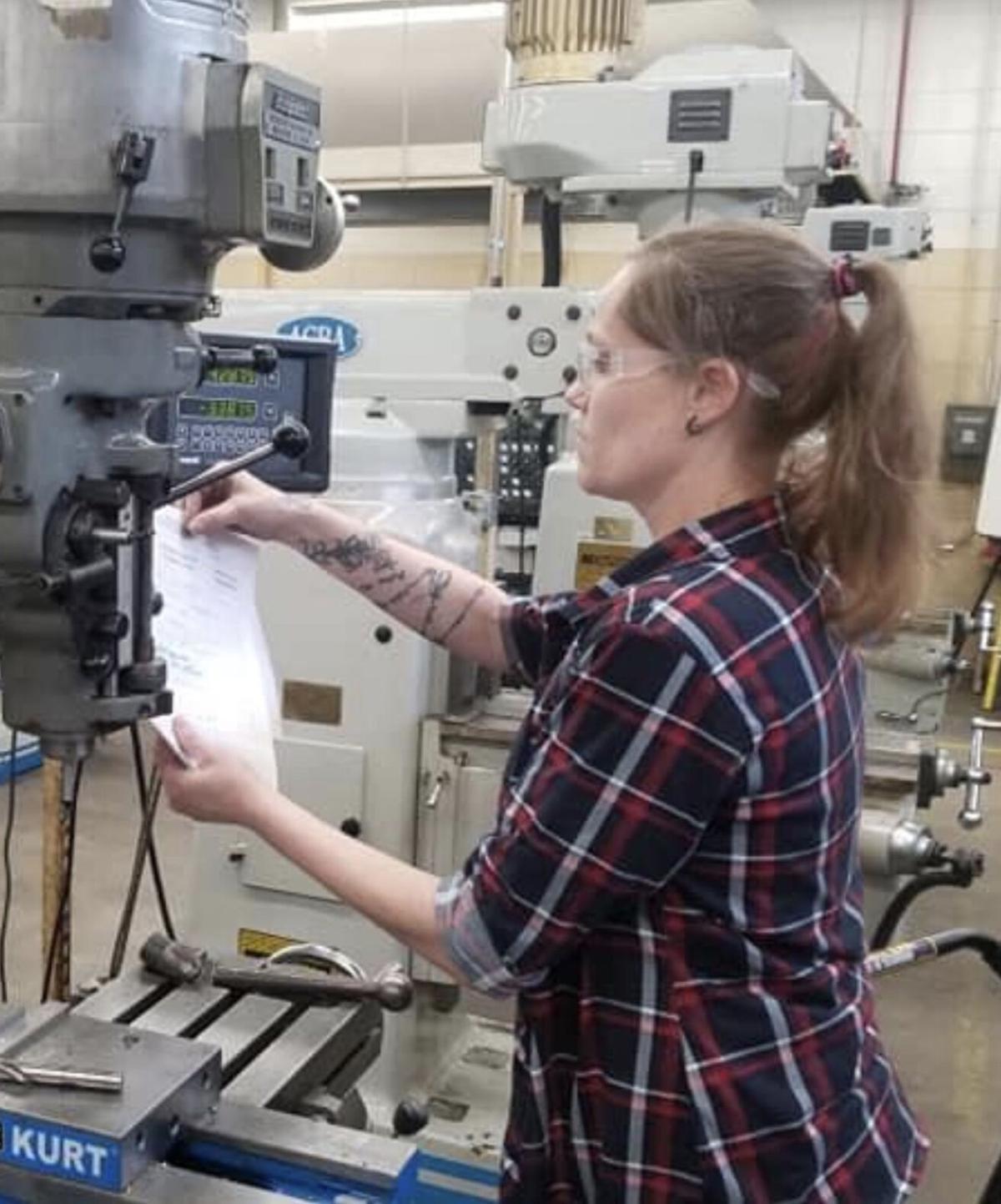Hampton follows dreams in manufacturing