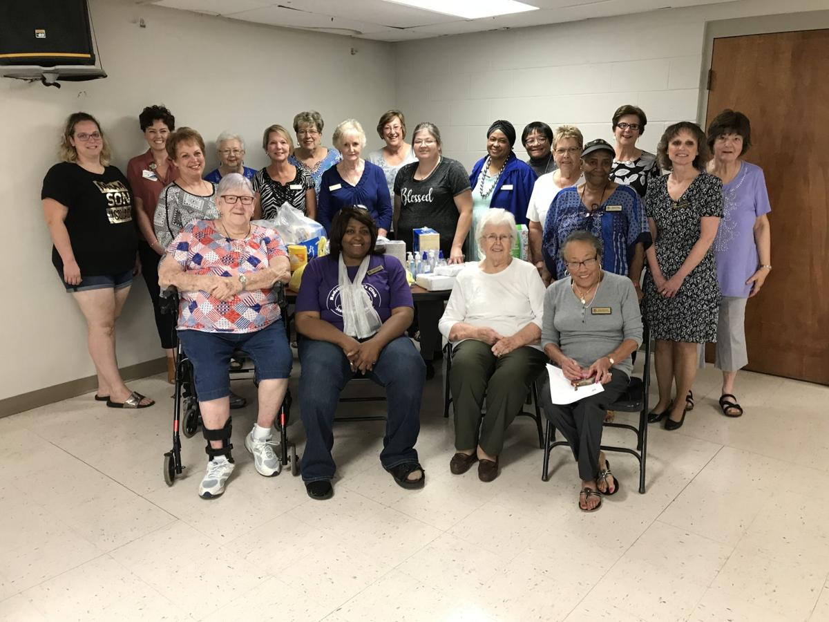 Radcliff Woman's Club members gather for September meeting