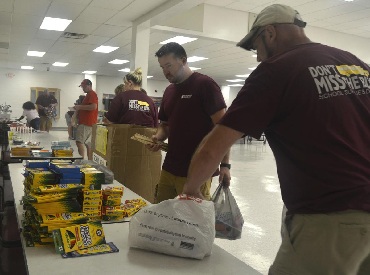 About 30,000 school supplies collected for local schools