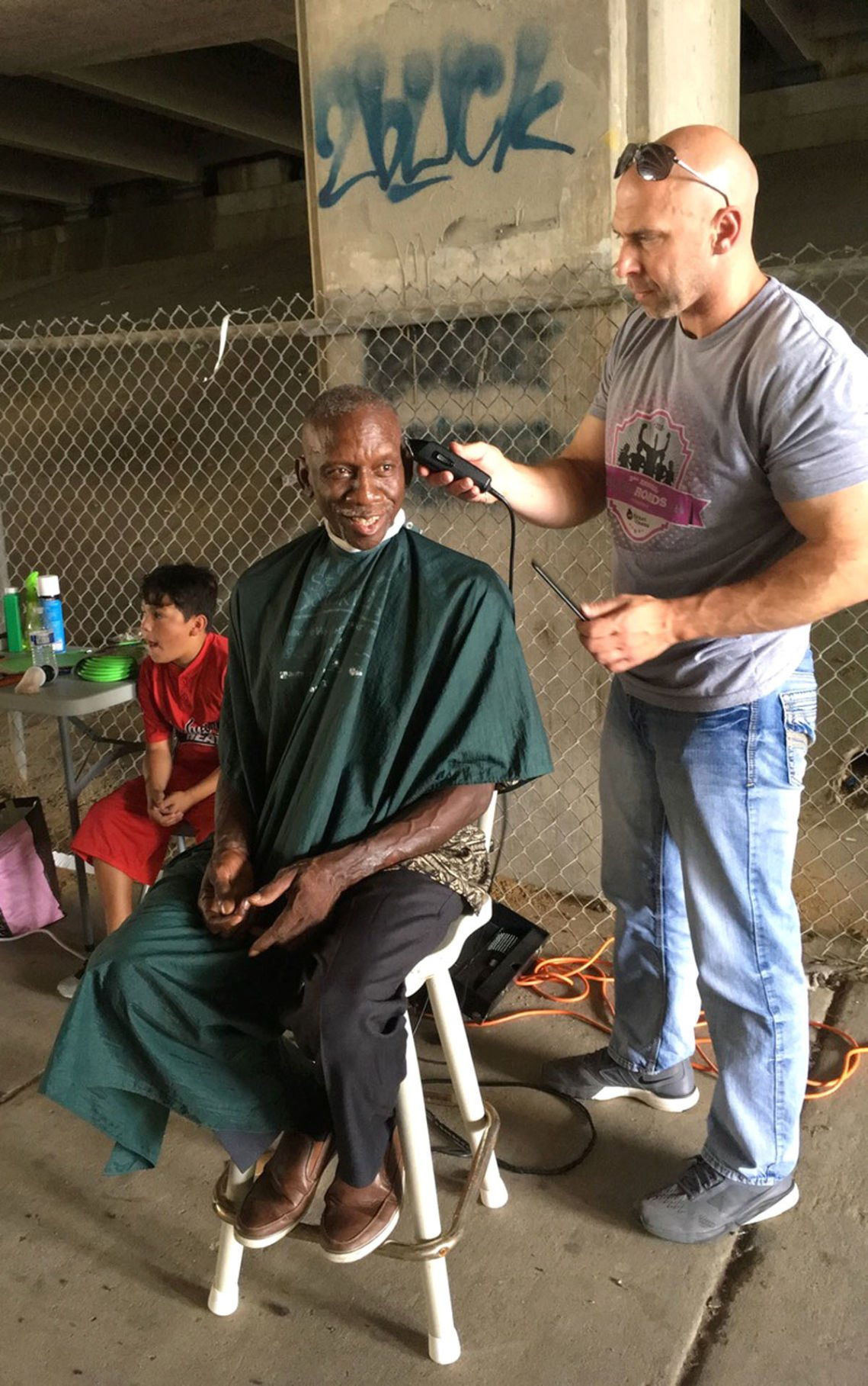 Local barber is a cut above