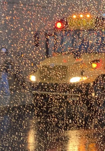 Rainy day artistry