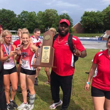 North Hardin alumni reflects on coaching his first state track title